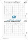 Geometrisches Zeichnen: Flächen Preview 12