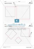 Geometrisches Zeichnen: Flächen Preview 15