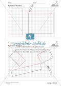 Geometrisches Zeichnen: Flächen Preview 16
