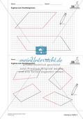 Geometrisches Zeichnen: Flächen Preview 17