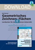 Geometrisches Zeichnen: Flächen Preview 1