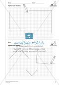 Geometrisches Zeichnen: Flächen Preview 4