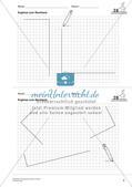 Geometrisches Zeichnen: Flächen Preview 5