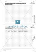 Geometrisches Zeichnen: Flächen Preview 7