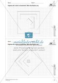 Geometrisches Zeichnen: Flächen Preview 8