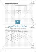 Geometrisches Zeichnen: Flächen Preview 9