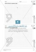 Geometrisches Zeichnen: Zahlen Preview 13