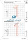Geometrisches Zeichnen: Zahlen Preview 16