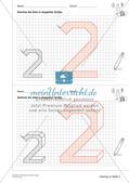 Geometrisches Zeichnen: Zahlen Preview 17