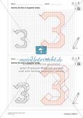 Geometrisches Zeichnen: Zahlen Preview 18
