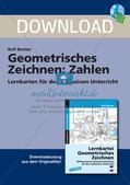Geometrisches Zeichnen: Zahlen Preview 1