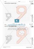 Geometrisches Zeichnen: Zahlen Preview 24