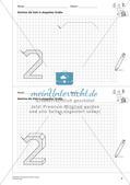 Geometrisches Zeichnen: Zahlen Preview 6