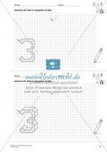 Geometrisches Zeichnen: Zahlen Preview 7