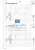 Geometrisches Zeichnen: Zahlen Preview 8
