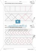 Geometrisches Zeichnen: Ornamente und Parkette Preview 13