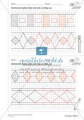 Geometrisches Zeichnen: Ornamente und Parkette Preview 14