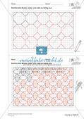 Geometrisches Zeichnen: Ornamente und Parkette Preview 19