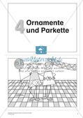 Geometrisches Zeichnen: Ornamente und Parkette Preview 3