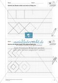 Geometrisches Zeichnen: Ornamente und Parkette Preview 4