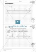 Geometrisches Zeichnen: Symmetrie Preview 10