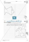 Geometrisches Zeichnen: Symmetrie Preview 11