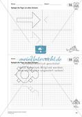 Geometrisches Zeichnen: Symmetrie Preview 12