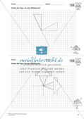 Geometrisches Zeichnen: Symmetrie Preview 13