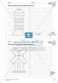 Geometrisches Zeichnen: Symmetrie Preview 14
