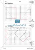 Geometrisches Zeichnen: Symmetrie Preview 15