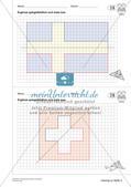 Geometrisches Zeichnen: Symmetrie Preview 16