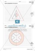Geometrisches Zeichnen: Symmetrie Preview 17