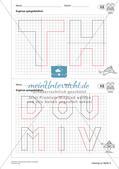 Geometrisches Zeichnen: Symmetrie Preview 18