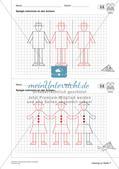 Geometrisches Zeichnen: Symmetrie Preview 20