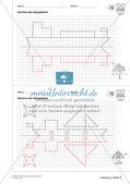 Geometrisches Zeichnen: Symmetrie Preview 21