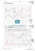 Geometrisches Zeichnen: Symmetrie Preview 22