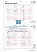 Geometrisches Zeichnen: Symmetrie Preview 23