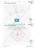 Geometrisches Zeichnen: Symmetrie Preview 24