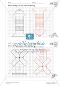 Geometrisches Zeichnen: Symmetrie Preview 25