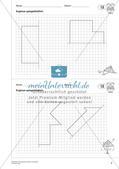 Geometrisches Zeichnen: Symmetrie Preview 4