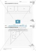 Geometrisches Zeichnen: Symmetrie Preview 5