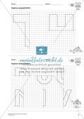 Geometrisches Zeichnen: Symmetrie Preview 7