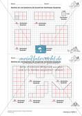 Geometrisches Zeichnen: Umfang und Flächeninhalt Preview 11