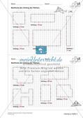 Geometrisches Zeichnen: Umfang und Flächeninhalt Preview 13