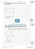 Geometrisches Zeichnen: Umfang und Flächeninhalt Preview 14