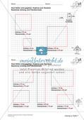 Geometrisches Zeichnen: Umfang und Flächeninhalt Preview 15