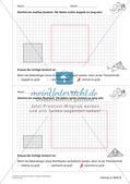 Geometrisches Zeichnen: Umfang und Flächeninhalt Preview 16