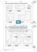 Geometrisches Zeichnen: Umfang und Flächeninhalt Preview 4