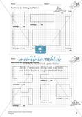 Geometrisches Zeichnen: Umfang und Flächeninhalt Preview 6