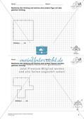 Geometrisches Zeichnen: Umfang und Flächeninhalt Preview 7